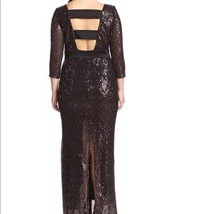 Abs sequin gown- new without tags